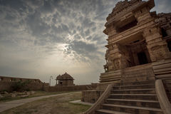 Hindu temple, Gwalior, India. Hindu Temple in Gwalior India Royalty Free Stock Image