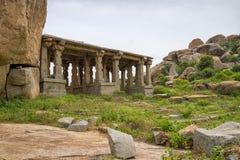 Hindu temple, Hampi, Karnataka state, India Royalty Free Stock Photo