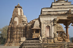 Hindu temple in India Stock Images