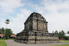 Hindu temple. Java, Indonesia Stock Image