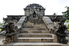 Hindu temple. Java, Indonesia Stock Photo