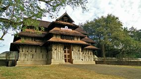 Hindu temple of kerala. Vadakkumnathan shiva temple of thrissur kerala Royalty Free Stock Images