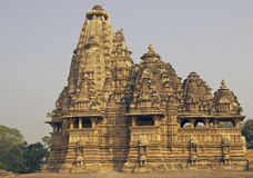 Hindu Temple At Khajuraho Stock Photos