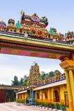 Hindu temple at Kuala Lumpur Malaysia Stock Photos