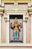Hindu temple in kuala lumpur malaysia Stock Image