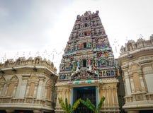Hindu temple in Kuala Lumpur, Malaysia.  Stock Photography