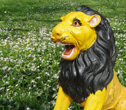 Hindu temple lion Royalty Free Stock Photography