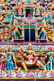 Hindu Temple in Little India, Singapore Stock Photography
