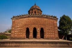 Hindu temple Madan Mohan. The famous Madan Mohan temple located in Bishnupur, West Bengal, India Stock Photos
