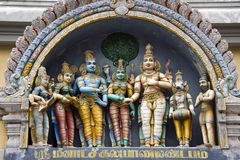 Hindu Temple - Madurai - Tamil Nadu - India Stock Photography