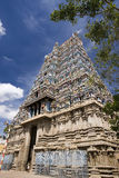 Hindu Temple - Madurai - Tamil Nadu - India Stock Photos