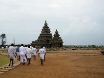 Hindu temple in Mahabalipuram Stock Photography