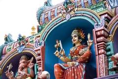 Hindu temple in Malaysia Stock Photos