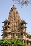 Hindu Temple - Mandore - Rajasthan - India. Ek Thamba Mahal in the Mandore Hindu Temple Complex in the town of Mandore near Jodhpur in Western Rajasthan in India Stock Image