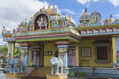 Hindu temple in Mauritius Royalty Free Stock Photo