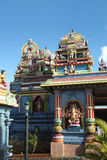 Hindu temple on Mauritius Royalty Free Stock Images