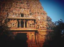 Hindu Temple Meenakshi Stock Photos