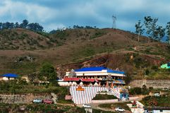 Hindu temple in Munnar Stock Images