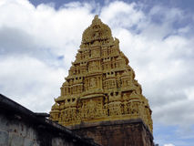 Hindu temple. Murudeshwara a hindu temple Royalty Free Stock Image