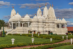 Hindu temple near Chicago, Illinois Royalty Free Stock Photography