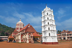 Hindu temple in Ponda, Stock Images