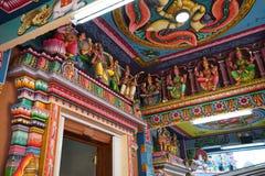 Hindu temple, Port Louis, Mauritius royalty free stock image