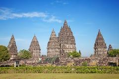 Hindu temple Prambanan Stock Image