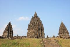 Hindu temple Prambanan Stock Images