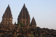Hindu temple Prambanan Royalty Free Stock Photography