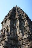 Hindu temple Prambanan Royalty Free Stock Image
