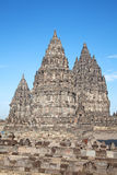 Hindu temple Prambanan Stock Photography