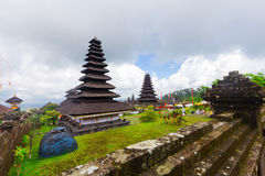 Hindu temple Pura Agung  Bali  Indonesia Royalty Free Stock Photo