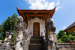 Hindu temple at Pura Sahab, Nusa Penida, Bali, Indonesia Royalty Free Stock Photos