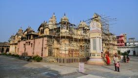 Hindu temple in Pushkar, India Royalty Free Stock Photo