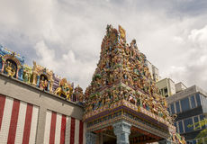 Hindu temple roof Royalty Free Stock Photo
