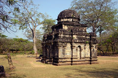 Hindu temple ruins Stock Images