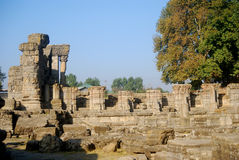Hindu temple ruins, Avantipur, Kashmir, India Royalty Free Stock Photos