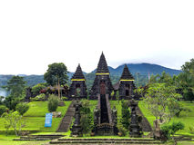 Hindu Temple in Salak Mountain, Bogor. The Collection of The Beauty Around Java and Bali Island. Holiday Vibes Royalty Free Stock Photography