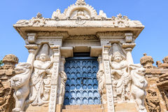 Hindu temple sculptures Stock Photos