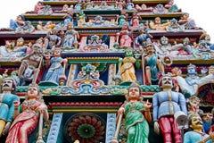 Hindu temple in Singapore Stock Image