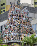 Hindu Temple in Singapore Royalty Free Stock Image