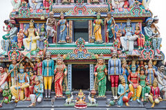 Hindu temple in Singapore Stock Image