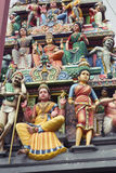 Hindu temple, Singapore Royalty Free Stock Image