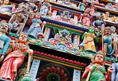 Hindu temple statue Stock Image