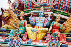 Hindu temple statue Royalty Free Stock Photography