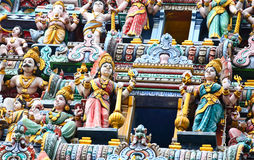 Hindu temple statue Royalty Free Stock Images