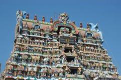 Hindu temple. In Tirunelveli, Tamil Nadu, South India Stock Photo