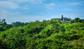 Hindu temple on the top of the mountain, Indonesia Royalty Free Stock Image