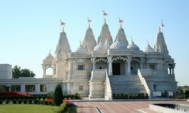 Hindu temple in Toronto Stock Photo