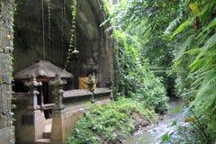 Hindu Temple Ubud Bali Indonesia Stock Image